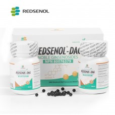 Redsenol DAG Sublingual Pills- Highly Active Rare Ginsenosides:Rk2 Rh3 aPPD Rg5, aPPD( S, R), aPPT( S, R)-14% Rare Ginsenosides- 2 Bottles × 420 Pills