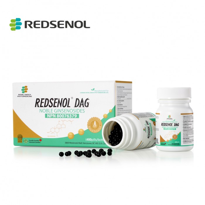 Redsenol DAG Sublingual Pills- Highly Active Rare Ginsenosides:Rk2 Rh3 aPPD Rg5, aPPD, aPPT
